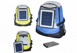 Solar Backpack Component Design Concept