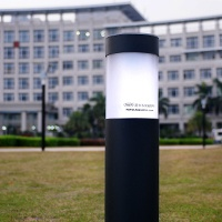 LED solar bollard light in Haicang administration center