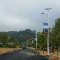 solar street light in Lincang, Yunnan province