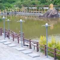Solar landscape light in Tongan luoan mountain,Xiamen