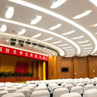 LED bulb light in Xiamen Siming district governmental building