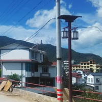 Solar lantern light in Yunnan province