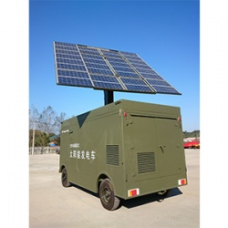 Vehicle-mounted solar power supply system in Xiamen